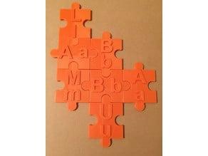 Alphabet Puzzle (English)