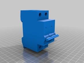 Din Rail Fuse Model