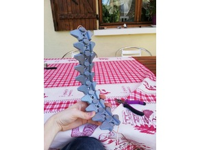 Spine for robot or creature