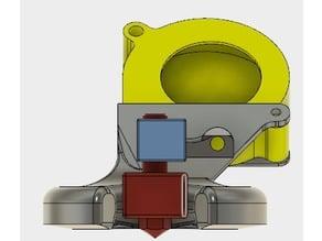 50mm Wanhao Duplicator i3 v2.1 Rear blower V2
