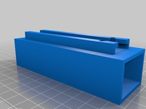 RC battery holder for Nerf tactical rail