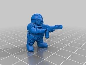 Space Dwarf Warriors 2