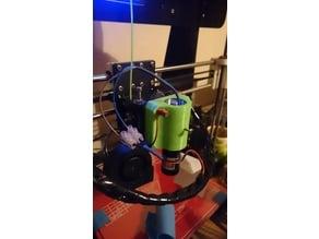 Prusa i3 laser pointer mount for Laser 303