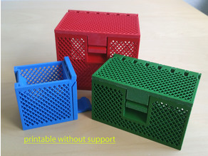 Storage box / Lattice box / Gitterbox