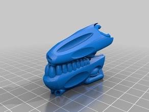 Dinosaur Jaw and head