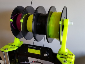 Filament Stand for Geeetech Prusa I3X Acrylic
