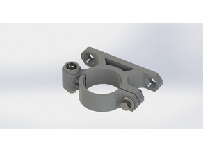 Dremel 4300 clamp with wallmount (Diameter 30mm) - Part 1