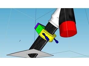 Xiaomi m365 Clamp (scooter Frame Mounting) to add a box or bag  - Plateau et Collier de serrage pour rajout de boite ou sac