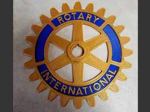 Rotary International Symbol - Dual Extrusion