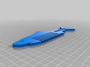 3D PRINTING A FIRST INTRODUCTION /  SHARK COMB REMIX