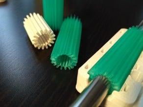 parametric Bearing (corkscrew-mode printing)