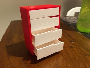 Doll House Dresser