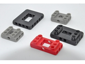 customizable liftarm frame compatible with well known building blocks (8mm) bricks