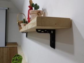 Wall shelf bracket