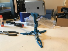 camera/phone adjustable tripod stand