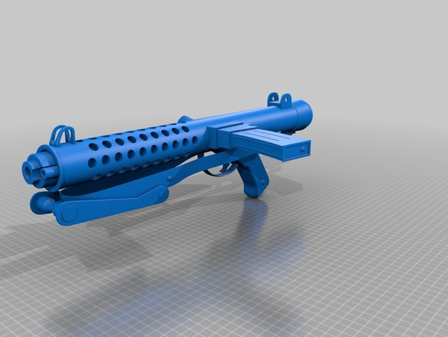 Sterling SMG by Rufian - Thingiverse