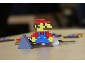 Multi-Color Mario Keychain