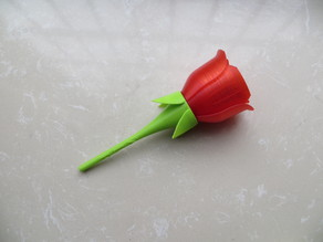 Make a rose for your girl.