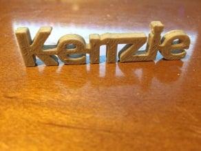 Kenzie KeyChain