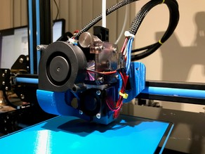 CR-10 E3D Titan Direct Drive Extruder Mount for V6 and Volcano