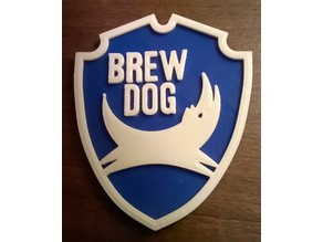 Brewdog Beer Mat / Drinks Coaster