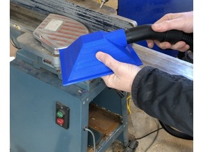 Dust catcher for jointing plane