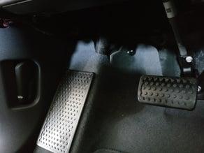 Chevy Bolt EV footrest/deadpedal/carpet protector