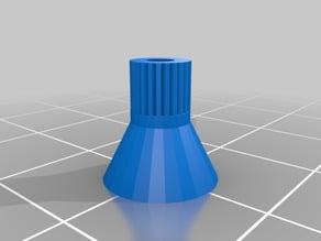 M5 filament cone guide for feeder