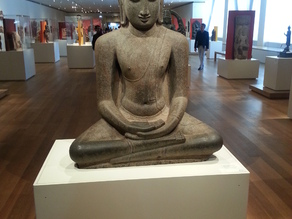 Buddha Seated in Meditation (Dhyanamudra), Chola period, c. 12th century, Art Institute of Chicago