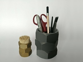 Big Nuts Cup - Pens/Pencils/Tools Holder - Toothpick Holder