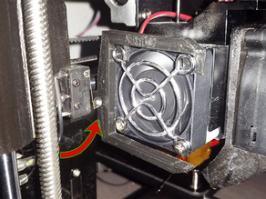 STOP X axis mount cooler