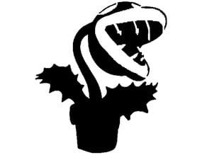 Piranha Plant Stencil