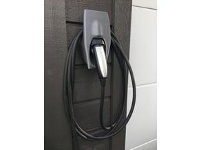 Tesla charge plug docking Type 2