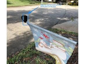 Garden Flag Pole Keep