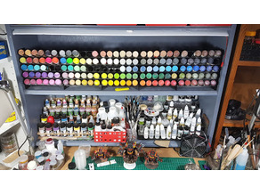 Modular Paint Rack for Army Painter / Vallejo / Reaper