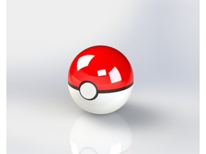 Pokeball foldable