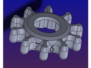 CR-10S5 Leveling Knob 熱床調整鈕輔助塊Aid 1.0