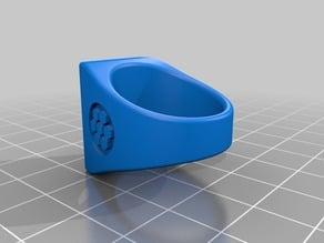 Simple Flat Ring