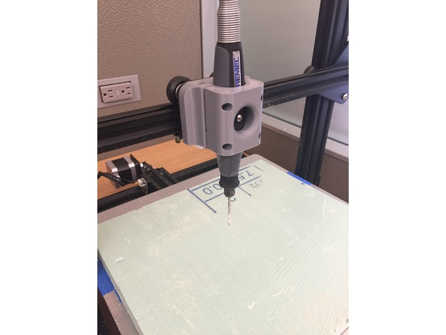Small Cnc Mill >> CNC Router (Dremel) Upgrade for CR-10 by petergiv - Thingiverse