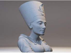 21st Century Nefertiti Bust