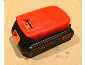 Black Decker 20v battery model