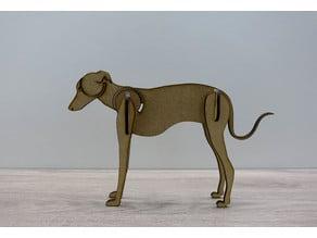Laser dog puzzle