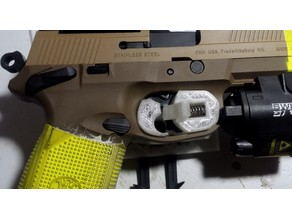 Airsoft 4-five Holster Trigger Lock Mechanism