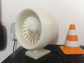 Plane turbine model