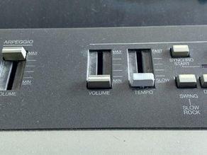 Yamaha P-35/P-55 keyboard slider replacement
