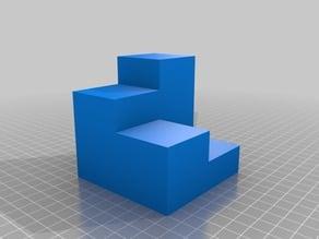 Figuras 3D para trabajar la obtención de vistas ortogonales IX