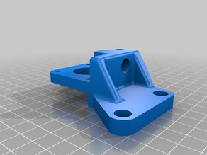 Direct Extruder mount for Creality ender 4