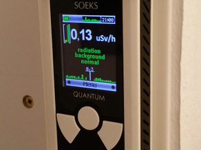 Stand / mount for the Soeks Quantum Geiger Counter