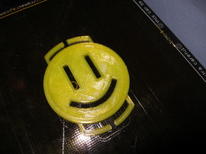 67mm Lens Cap Holder with Smiley!