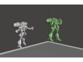 ROBOTECH Meltrandi FEMALE POWER ARMOR PRODUCTION LINE 4 set1